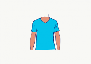 How To Wear A T-Shirt With V-Neck